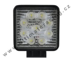 LED světlo Ultimate Racing Off-road, 9xLED 27W