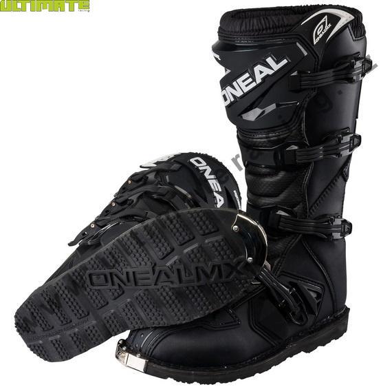 Boty - Dětské boty Oneal Rider černá US 31 - UltimateRacing.cz b213a70013